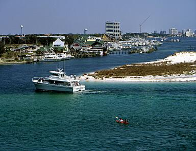 Destin Harbor Deep Sea Fishing Charter Boats, Bay Fishing